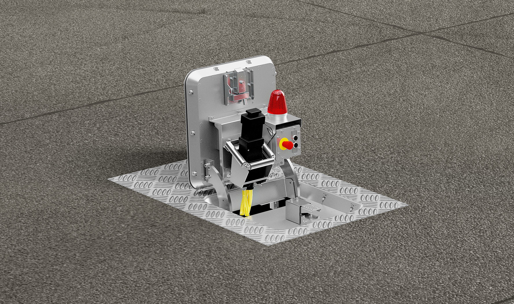 hatch pit, pit systems, airport solutions, airfield solutions, apron, plug storage