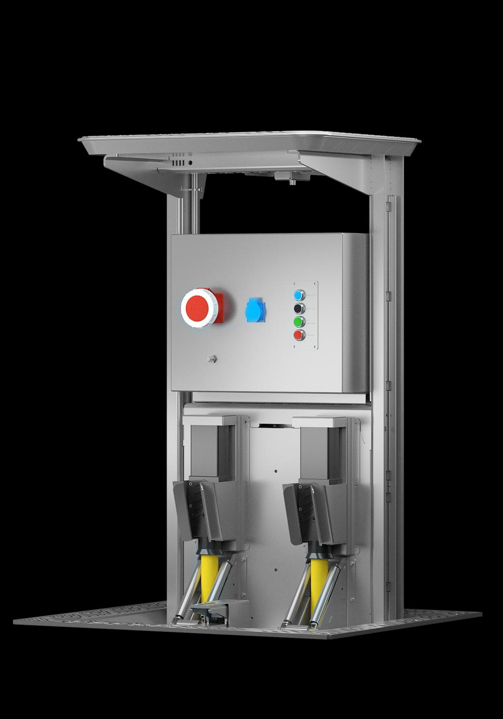 pit system, pop up, 400hz, 50hz, customer solutions, airport solutions, apron